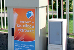 fibra ottica gambellara interplanet