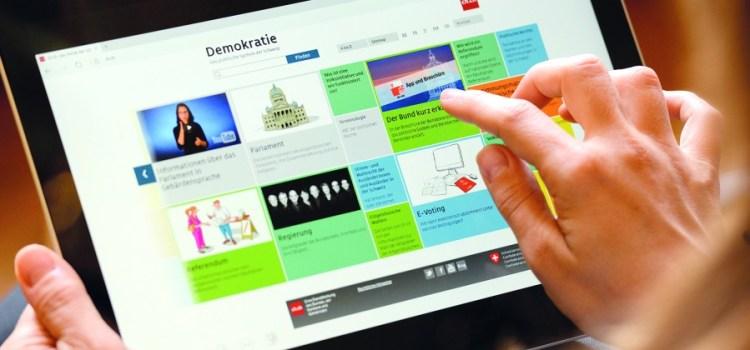 Il sistema politico svizzero in un clic