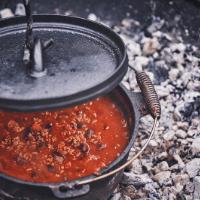 Dinner #4 Chili & Tortillas