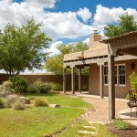 Galisteo River Adobe House exterior