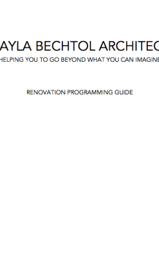 Renovation Programming Guide