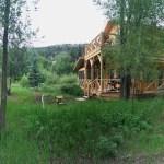 panorama rabbit bend cabin colorado