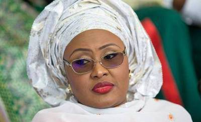 Aisha Buhari Sues Fayose Over Halliburton
