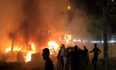 Suicide Attack In Baghdad