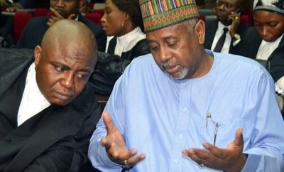 ECOWAS Court Declares Dasuki Detention Illegal