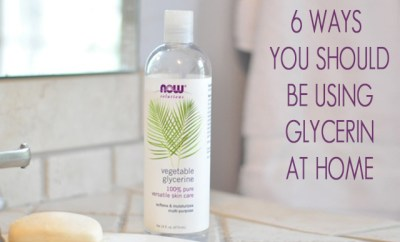 amazing things about glycerin