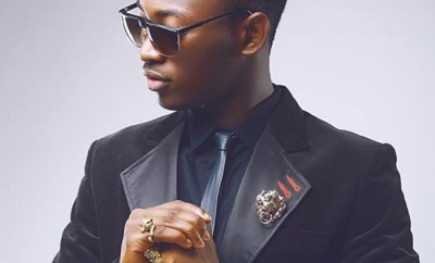 Dammy Krane Finally Arrives Lagos