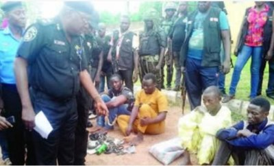 Kidnappers Arrested