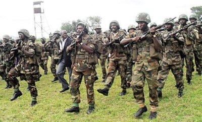 Nigerian Army Storm Niger Delta