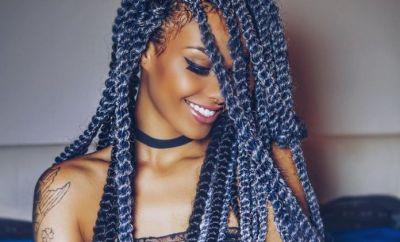 Mixed Colour Braids