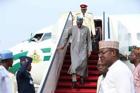 President Buhari Returns