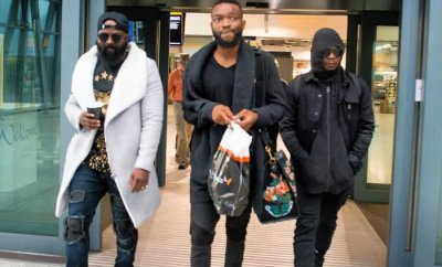 Olamide, Small Doctor, Phyno, DJ Enimoney, Arrive London