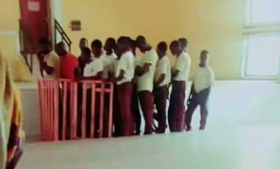 School Students Arraigned