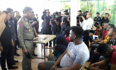 Nigerians, Somalians, others arrested