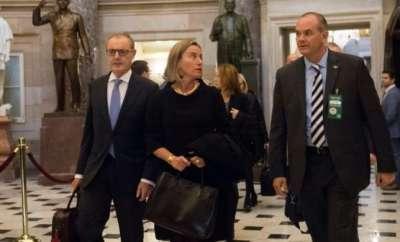 Europe urges US Congress