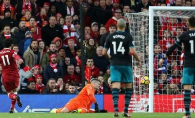 Liverpool Striker Salah Makes History,