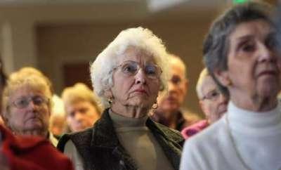 elderly people in Florida