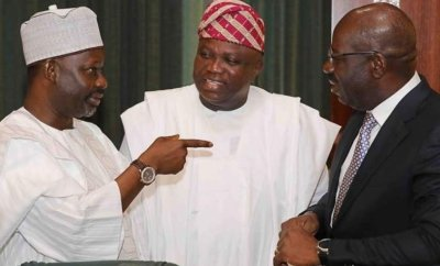 Governor Ambode attends the National Economic Council (NEC) meeting in Abuja