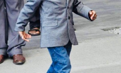 Boko Haram Boy walks again