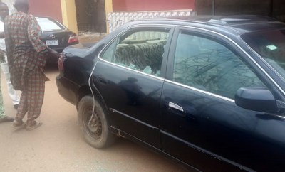 Baale Allegedly Crush Wife To Death With His Car