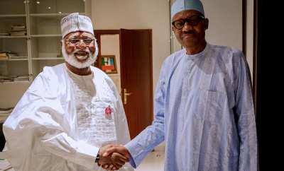 Abdulsalam Abubakar pays courtesy visit to President Buhari