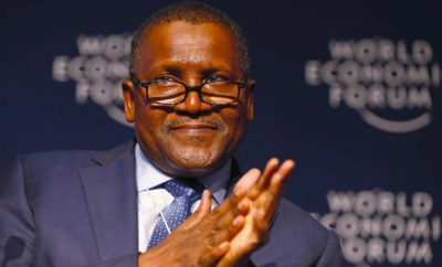 Dangote Billionaire makes World 50 Most Influential people's record
