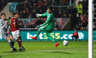 ristol City Beat Manchester United 2-1 In The EFL Cup Quarter Final