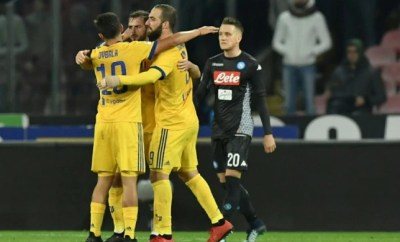 Allegri delight as Juventus trip up Napoli