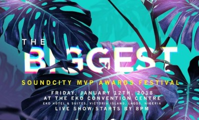 2017 Soundcity MVP Awards Festival Nominations
