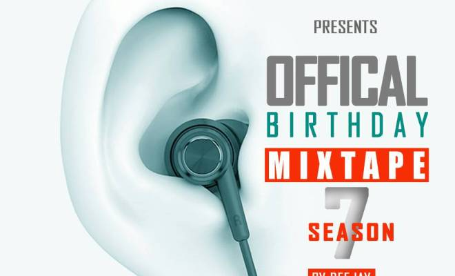 Deejay Gmix - Birthday Party Mixtape Season 7