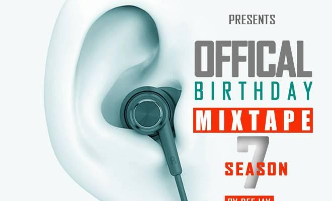 Deejay Gmix - Birthday Party Mixtape Season 7
