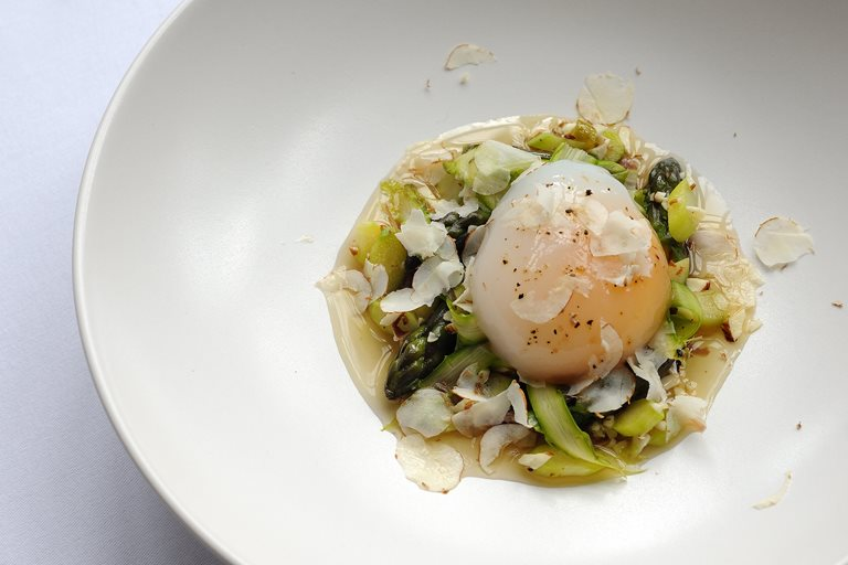 Slow Cooked Duck Egg Recipe Great British Chefs