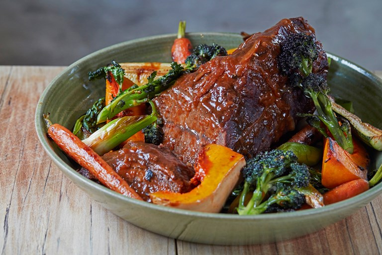 Braised Feather Blade Beef Recipe Great British Chefs