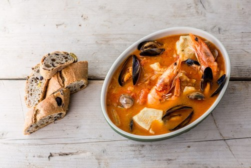 Brodetto (Italian fish stew)