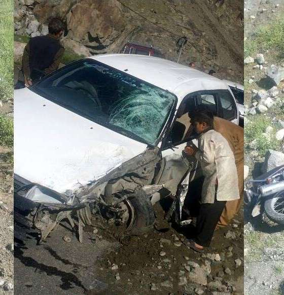 Baseen Gilgit Accident on Ghizer Road