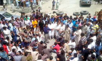 Sit-in Aliabad, Hunza against loadshedding