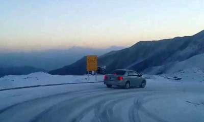 Babusar Pass closed for traffic