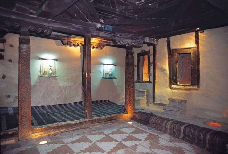 Inside the Baltit Fort Hunza