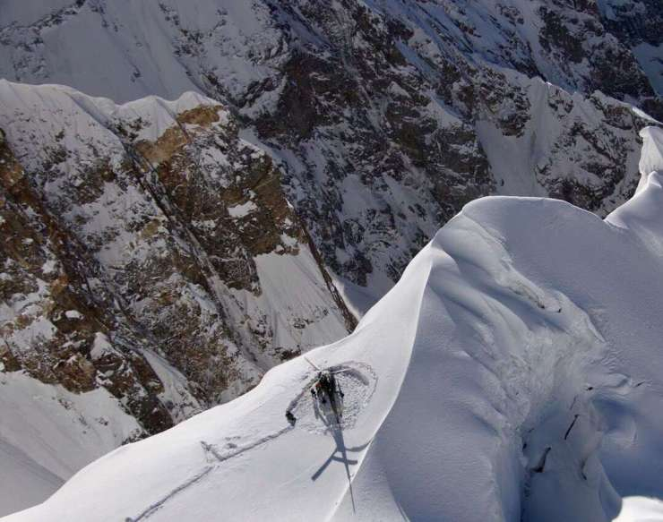 Pakistan Army rescue operation on Ultar Sar in Hunza Valley