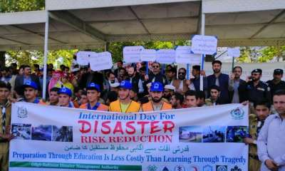 Aga Khan Agency for Habitat (AKAH) celebrates Disaster Risk Reduction Week across Pakistan