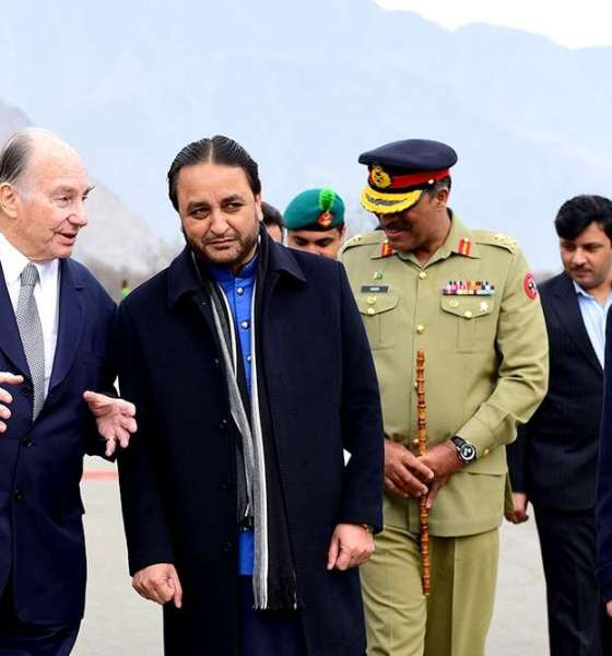 Aga Khan in Gilgit