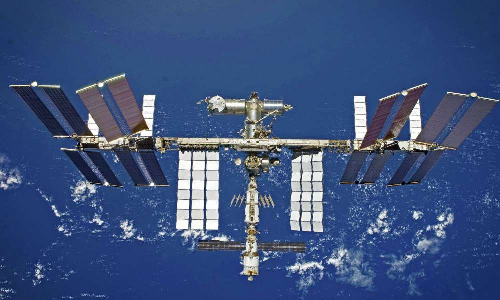 International Space Station (ISS) by the European Space Agency