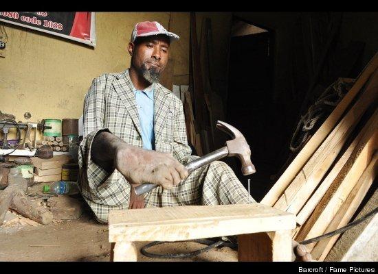 Carpenter sintayehu tishale with no hands