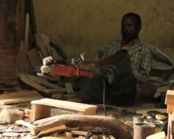 Sintayehu Tishale: armless carpenter