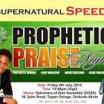 Prophetic Praise Night