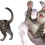 【グラブル】配布猫に対する反応 属性は主人公と同じ属性でサブメンバーだと味方全体の防御UP・・・猫の名前は何にする?