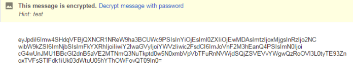 Encrypt and password protect your Gmail message in a click