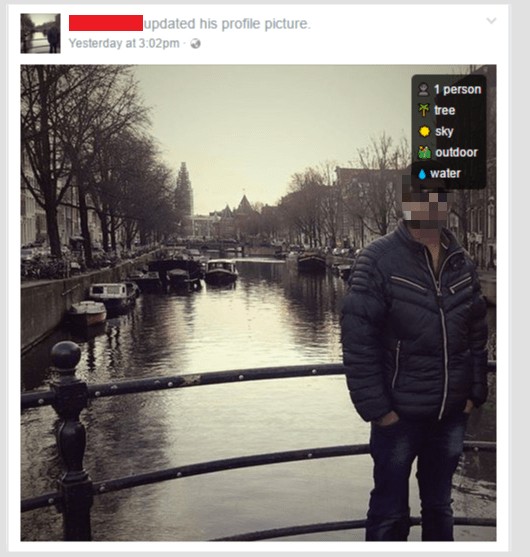 Curious about what Facebook thinks about your photos - Checkout the Live Demonstration
