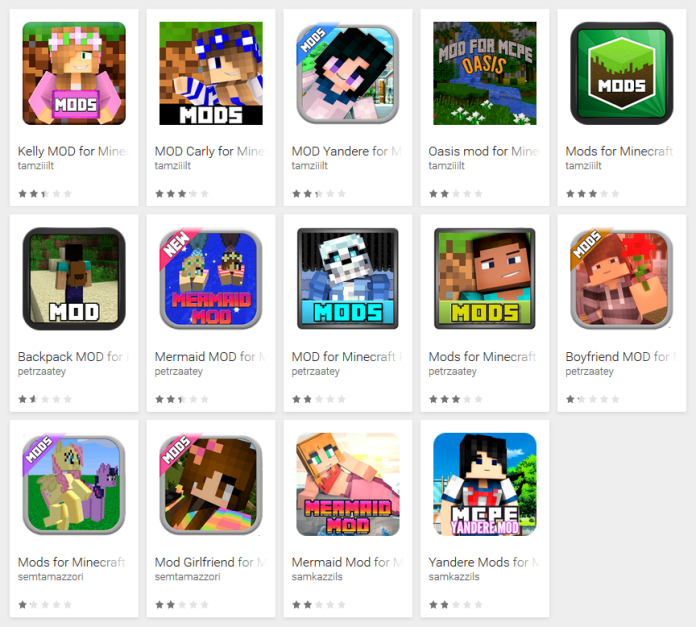 87 fake Minecraft mods reached up to 990,000 Android users spotted on Google Play Store