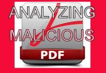 Malicious PDF File